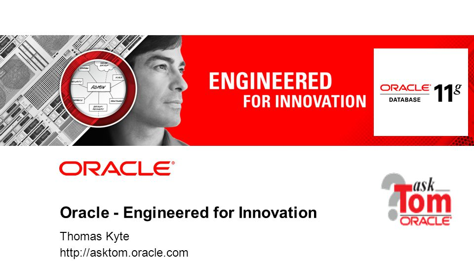 Oracle - Engineered for Innovation