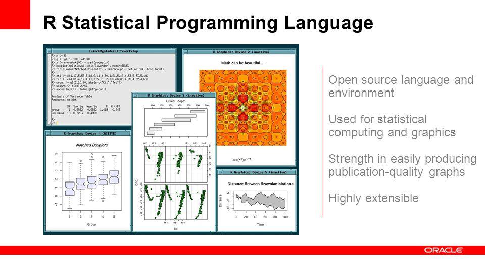 R Statistical Programming Language
