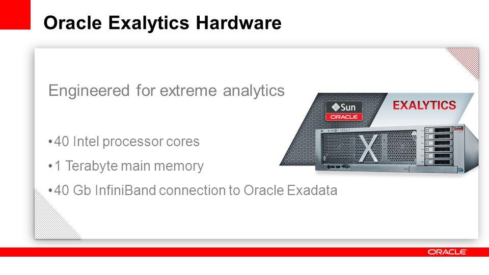 Oracle Exalytics Hardware