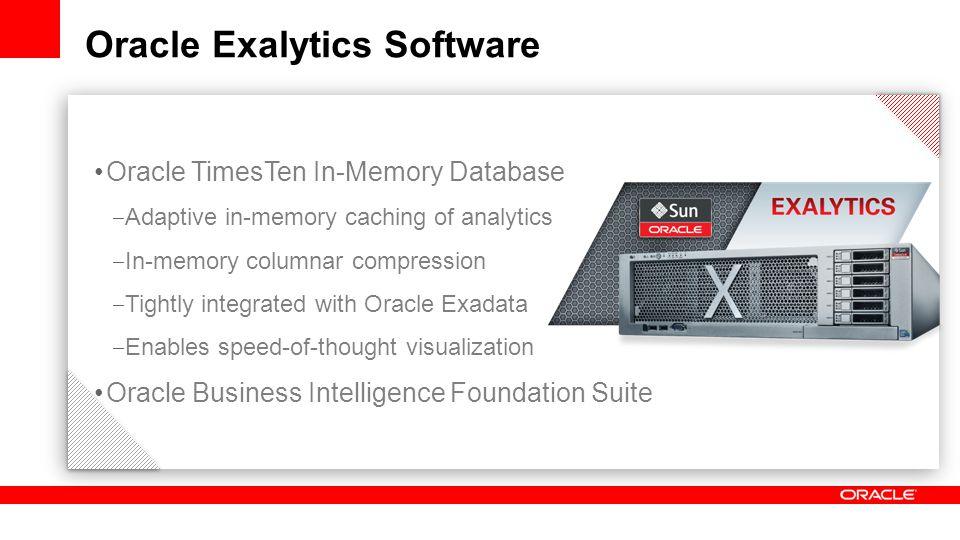 Oracle Exalytics Software