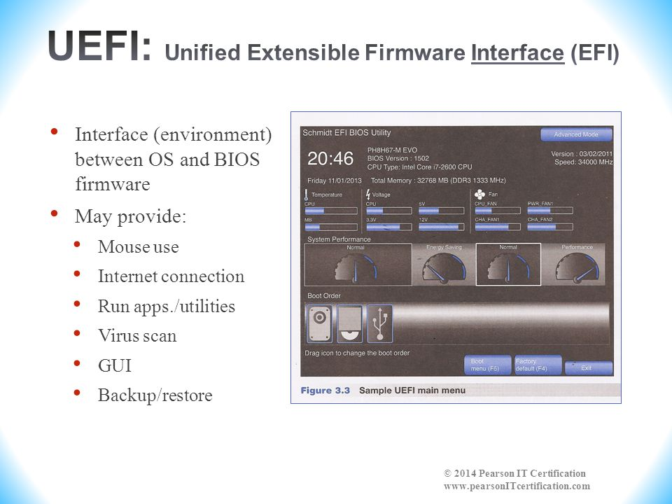 UEFI: Unified Extensible Firmware Interface (EFI)