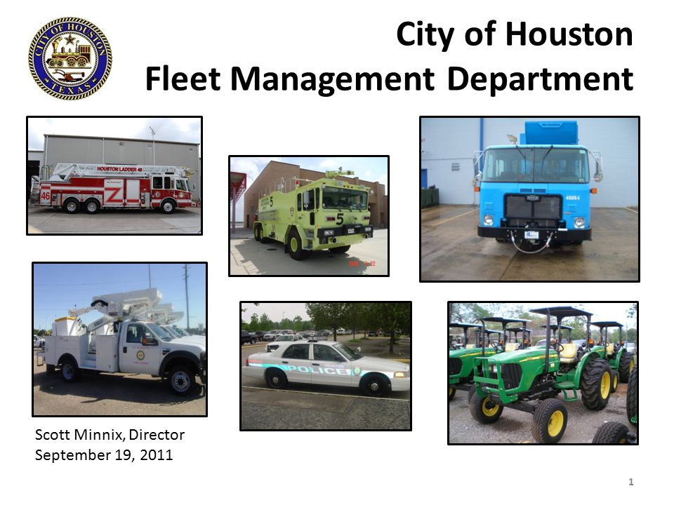 City of Houston Fleet Management Department