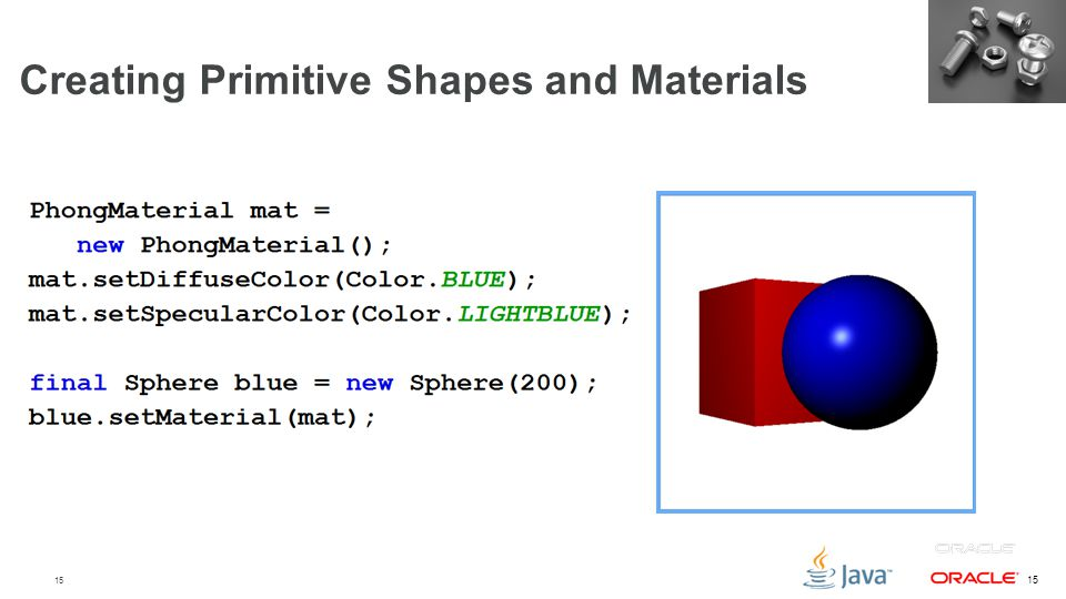 Creating Primitive Shapes and Materials
