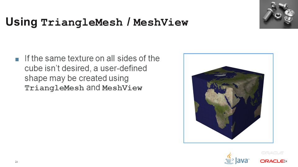 Using TriangleMesh / MeshView