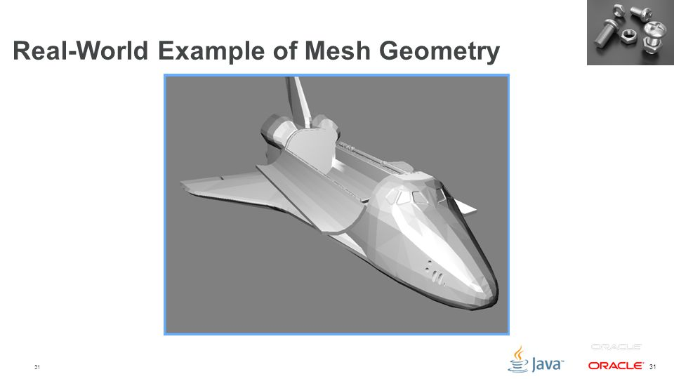 Real-World Example of Mesh Geometry