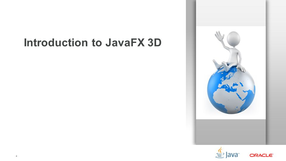 Introduction to JavaFX 3D