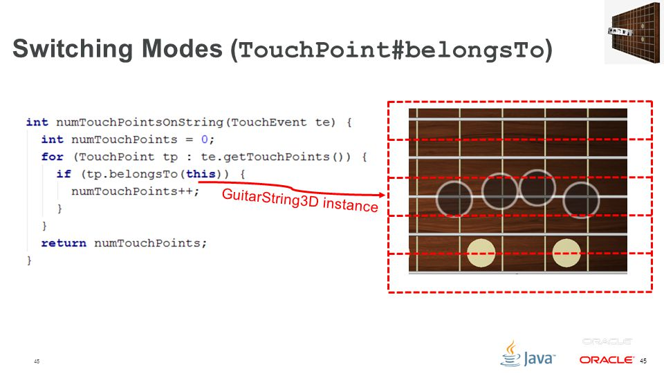 Switching Modes (TouchPoint#belongsTo)