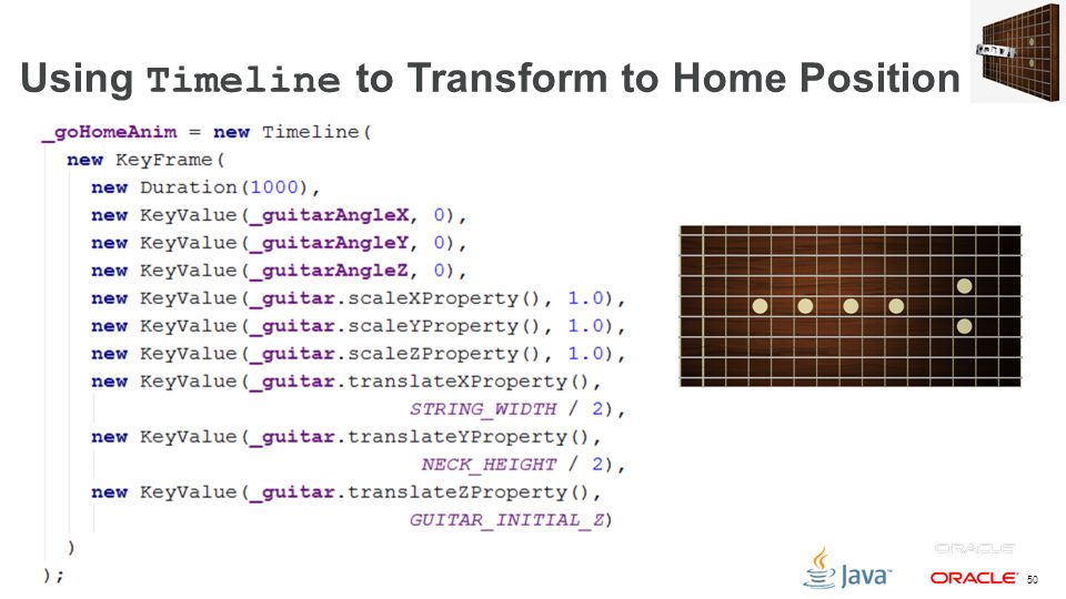 Using Timeline to Transform to Home Position