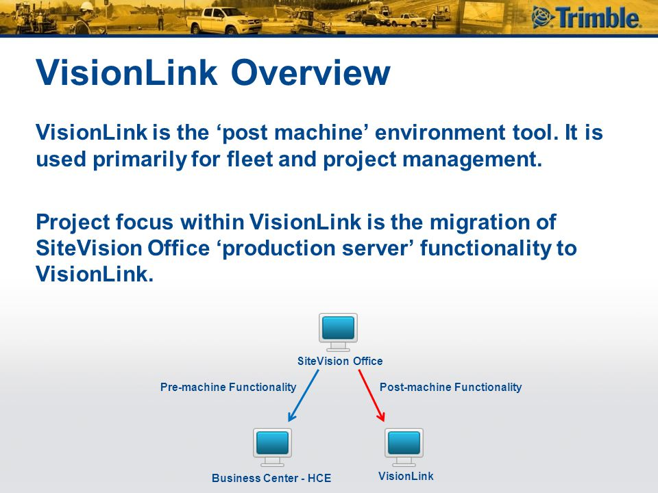 VisionLink Overview