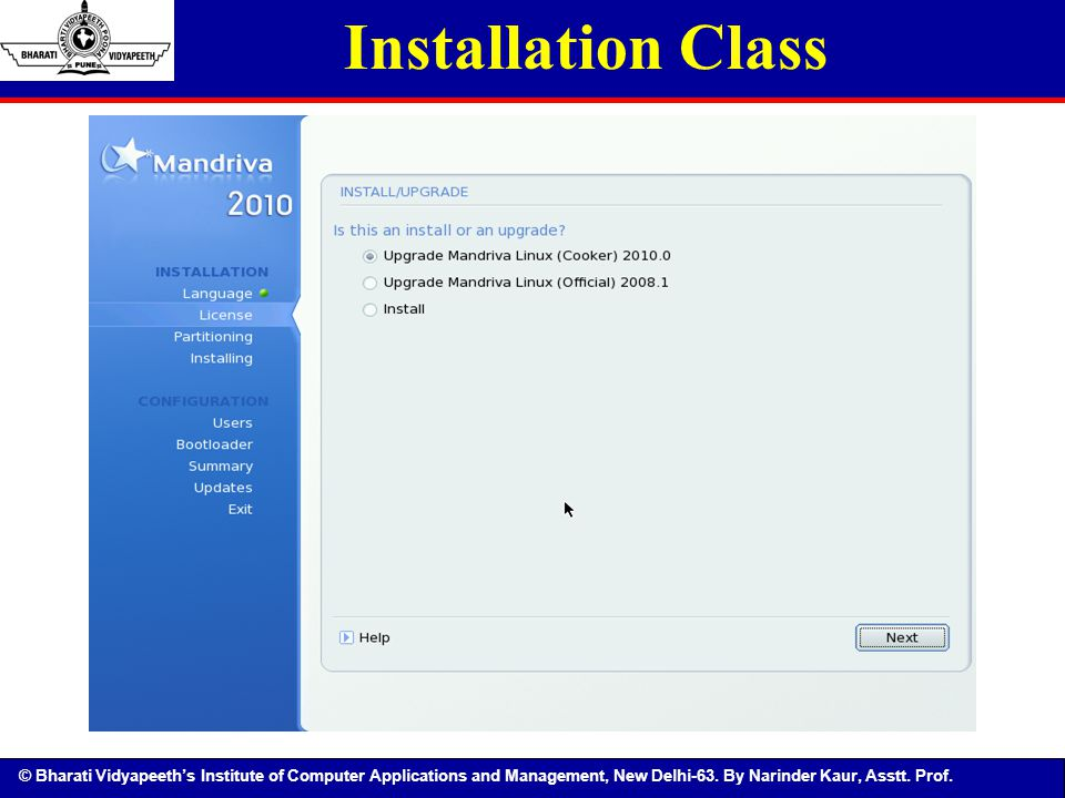 Installation Class