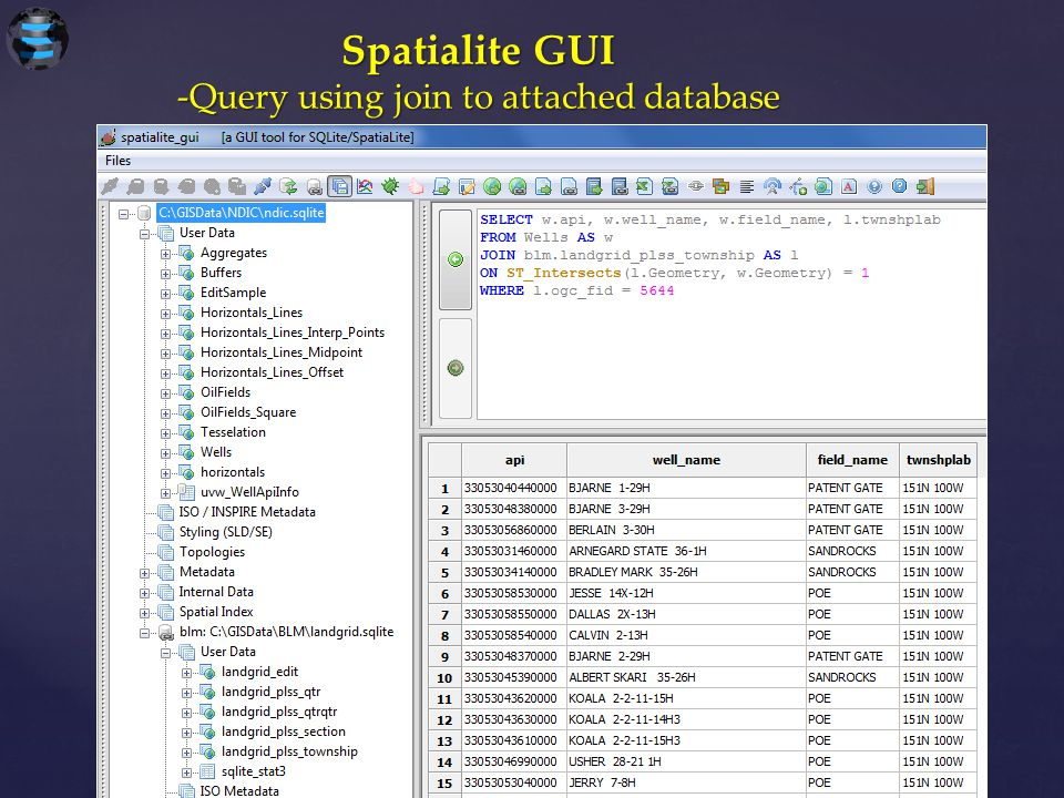 -Query using join to attached database