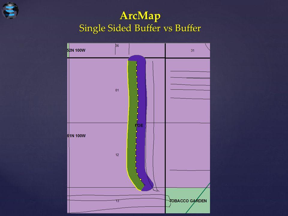 Single Sided Buffer vs Buffer