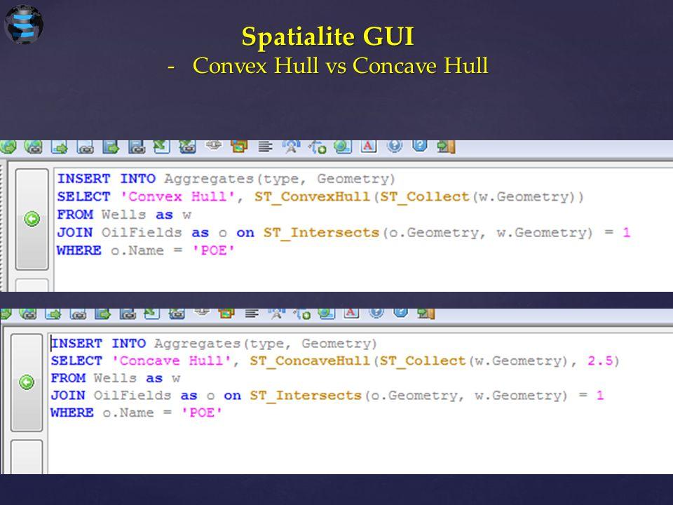 Convex Hull vs Concave Hull