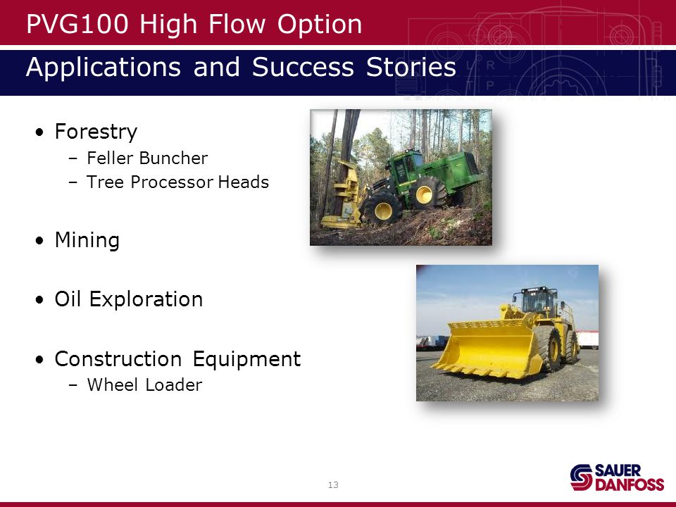 PVG100 High Flow Option Applications and Success Stories