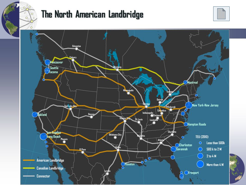 The North American Landbridge