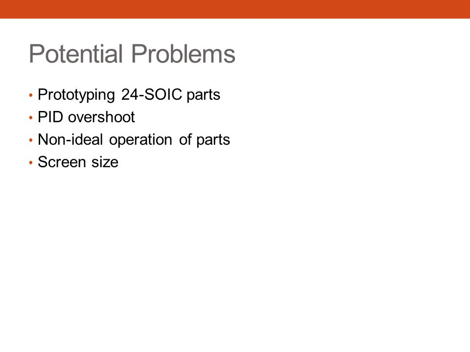 Potential Problems Prototyping 24-SOIC parts PID overshoot