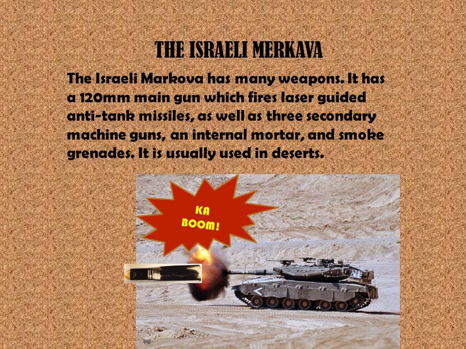 THE ISRAELI MERKAVA