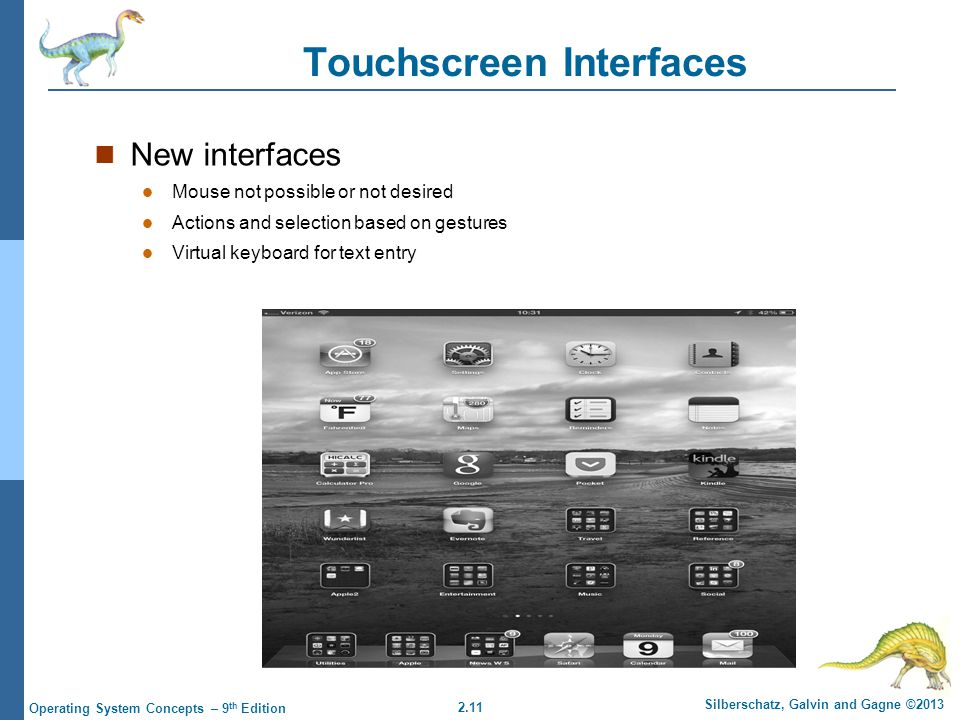Touchscreen Interfaces