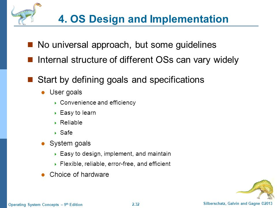4. OS Design and Implementation