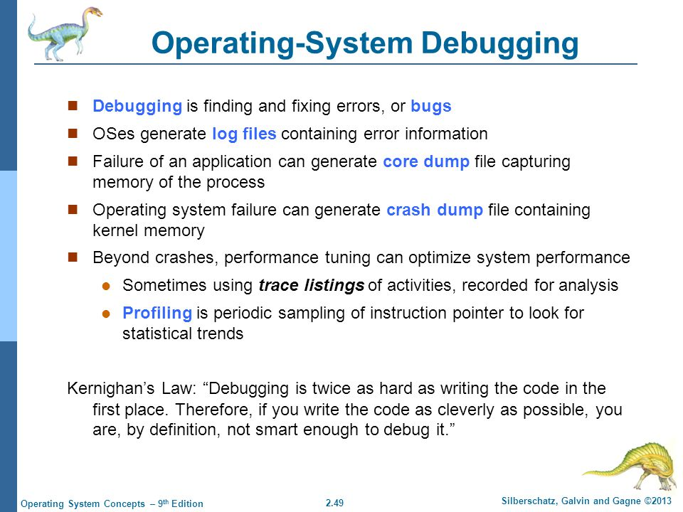 Operating-System Debugging
