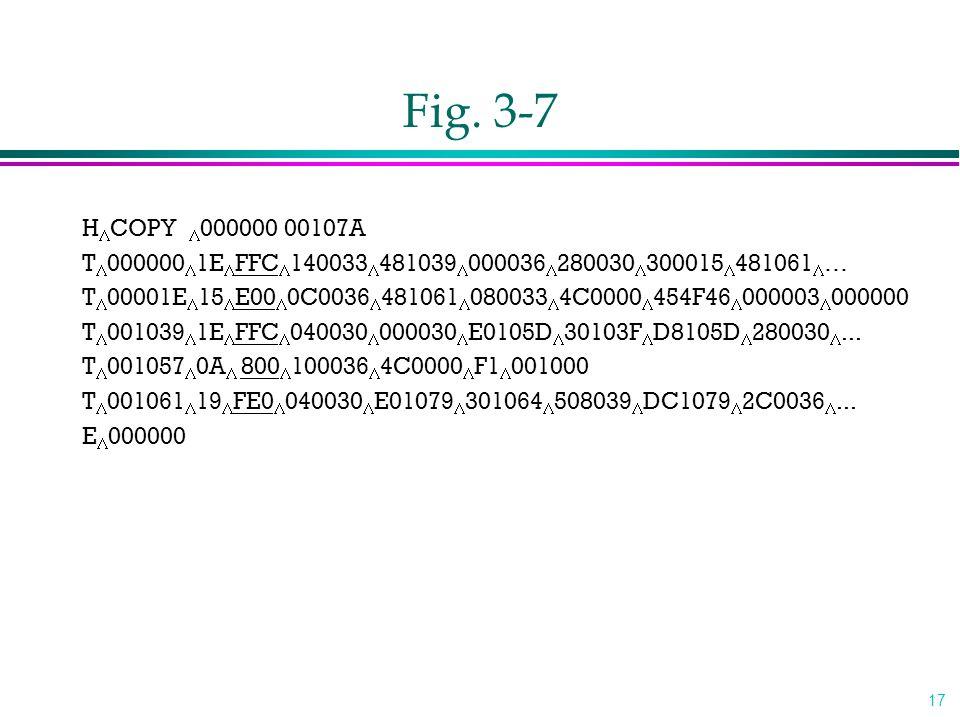 Fig. 3-7 HCOPY 000000 00107A. T0000001EFFC140033481039000036280030300015481061…