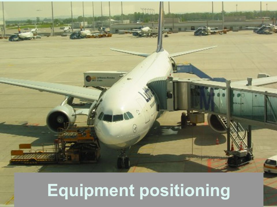 Equipment positioning