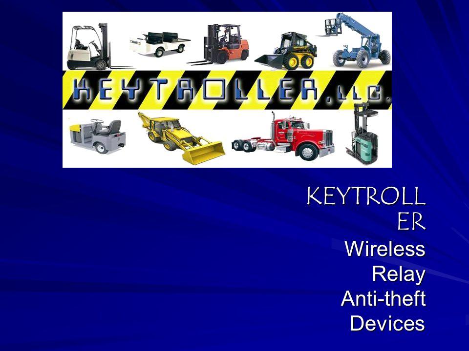 KEYTROLLER Wireless Relay Anti-theft Devices