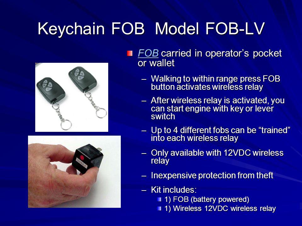 Keychain FOB Model FOB-LV