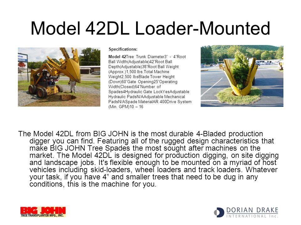 Model 42DL Loader-Mounted