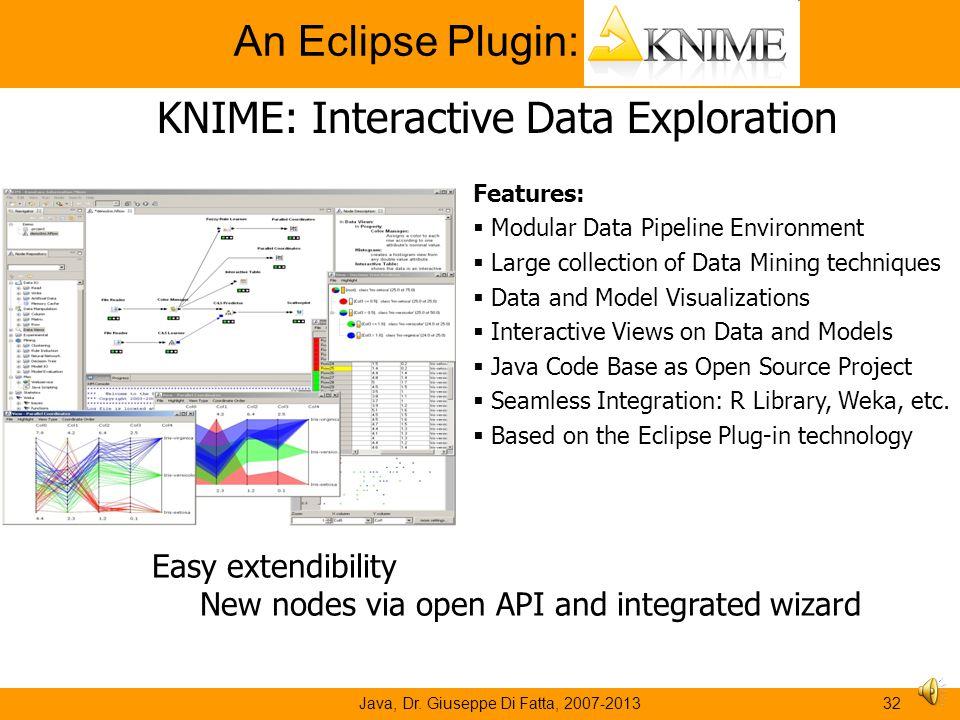 An Eclipse Plugin: KNIME