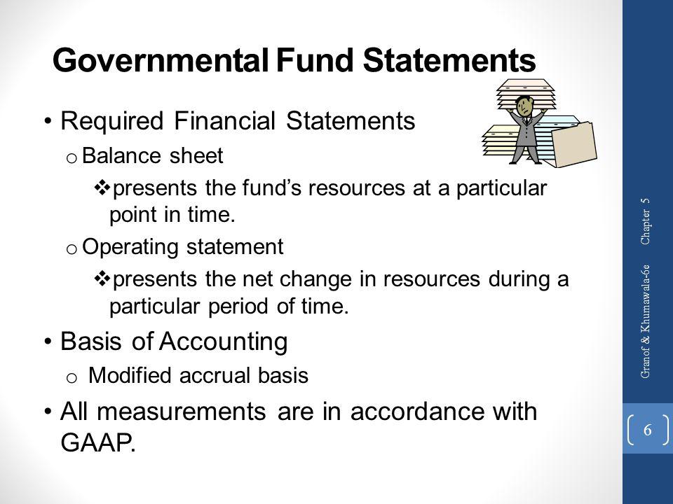 Governmental Fund Statements