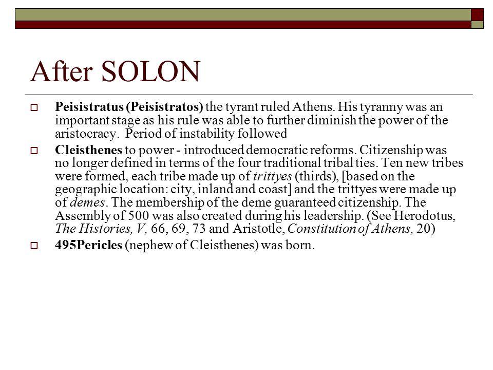 After SOLON