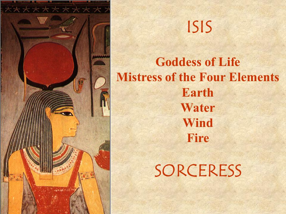Mistress of the Four Elements