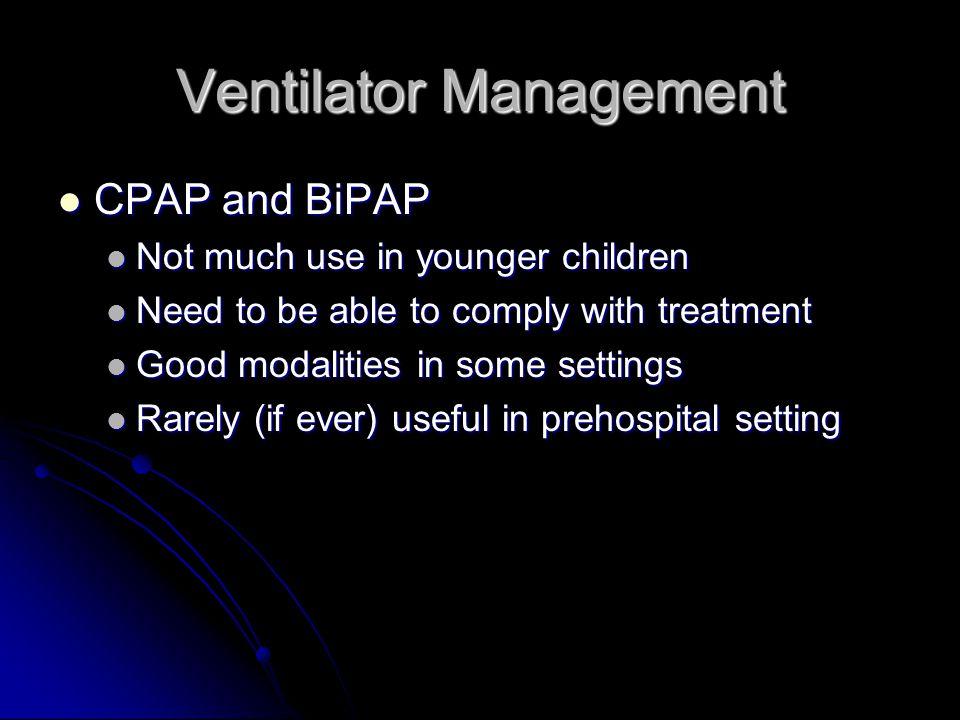 Ventilator Management