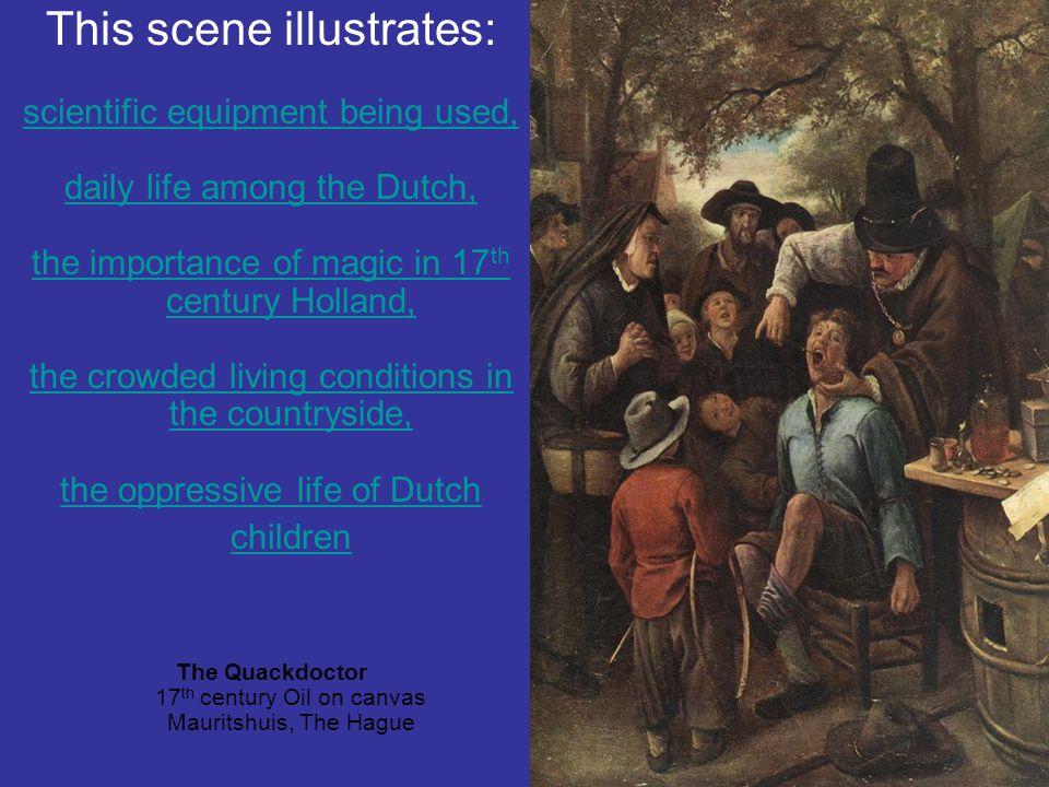 This scene illustrates: