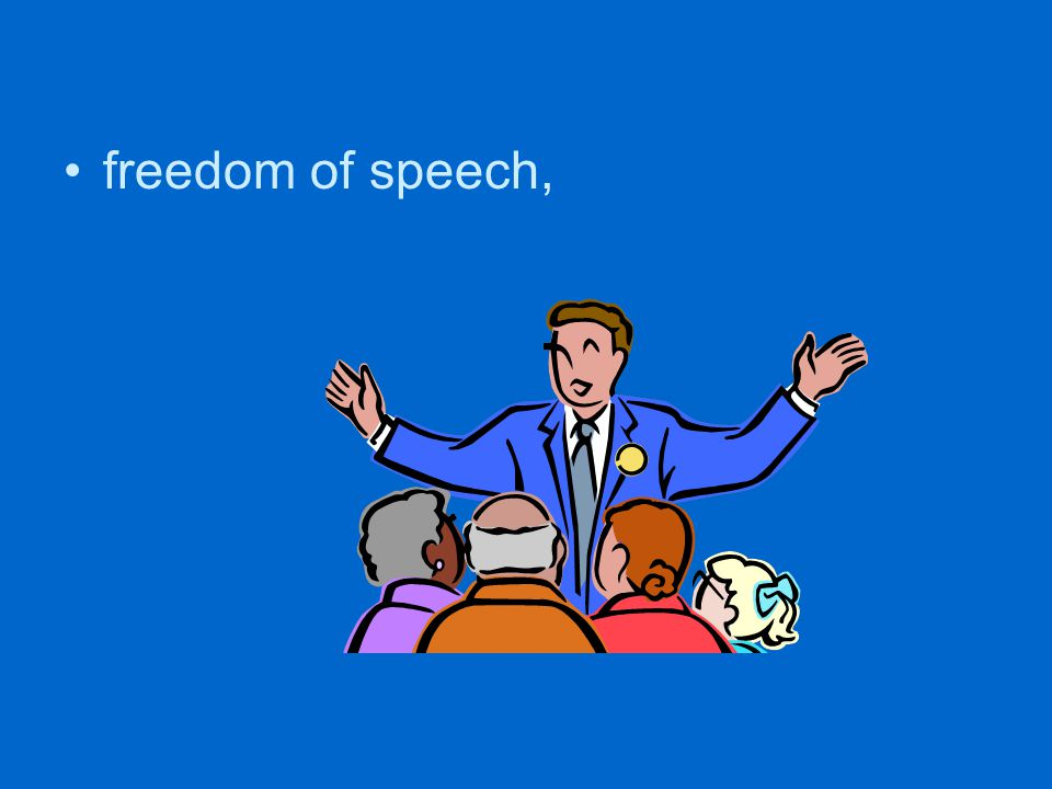 freedom of speech,