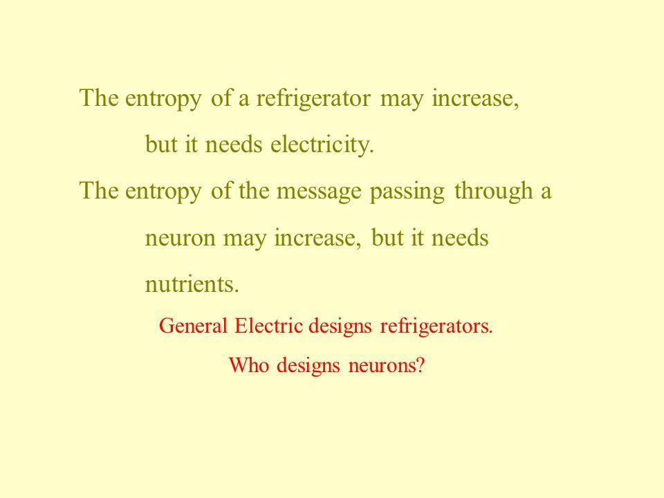 General Electric designs refrigerators.