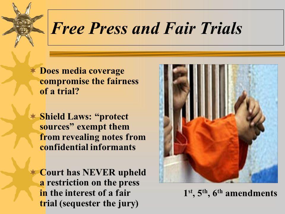 Free Press and Fair Trials