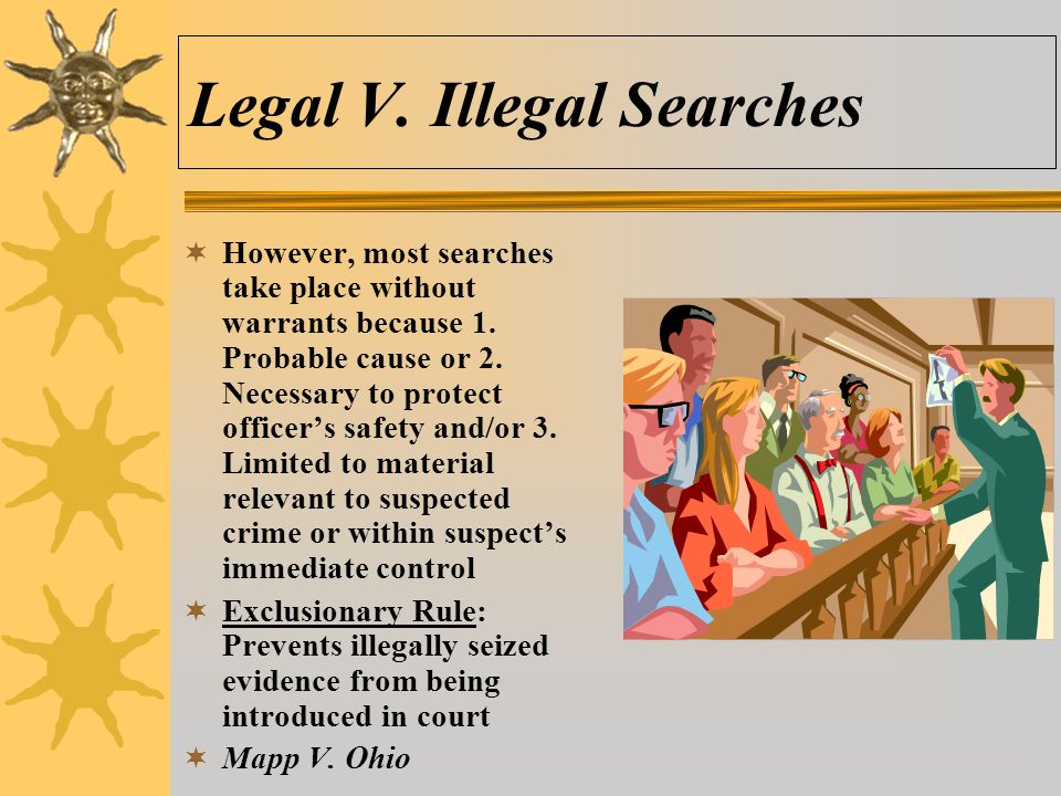 Legal V. Illegal Searches