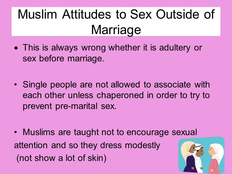 Muslim Attitudes to Sex Outside of Marriage