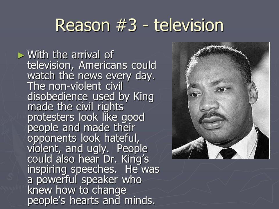 Reason #3 - television