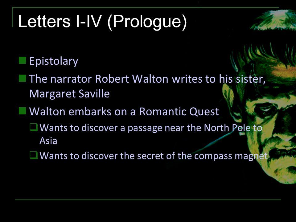 Letters I-IV (Prologue)