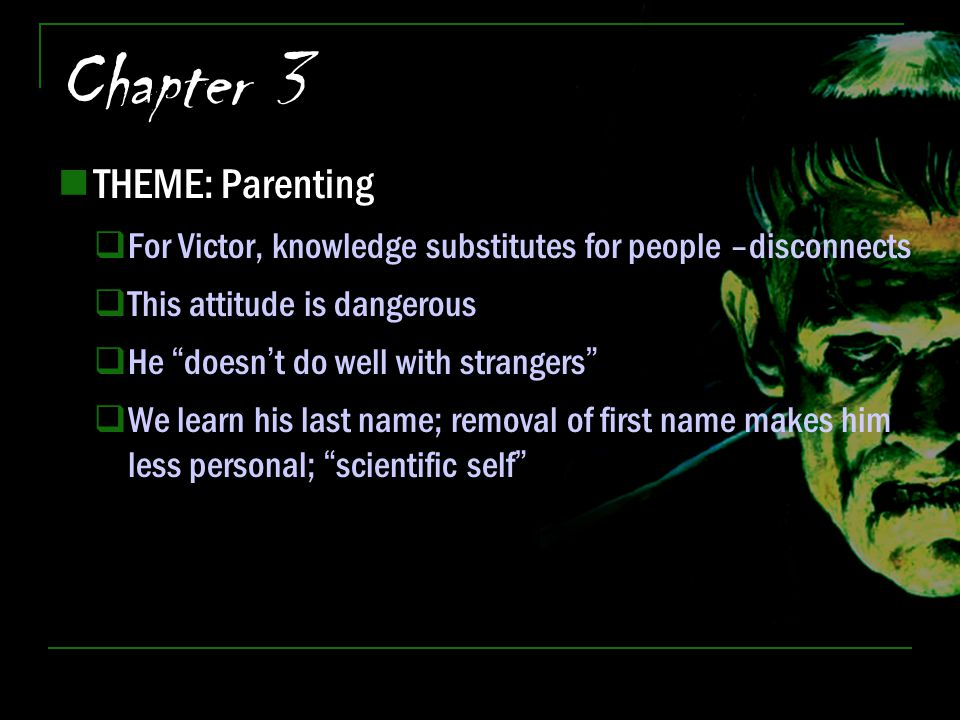 Chapter 3 THEME: Parenting