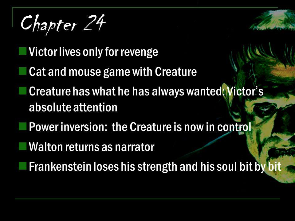 Chapter 24 Victor lives only for revenge