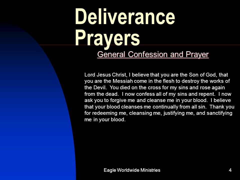 General Confession and Prayer