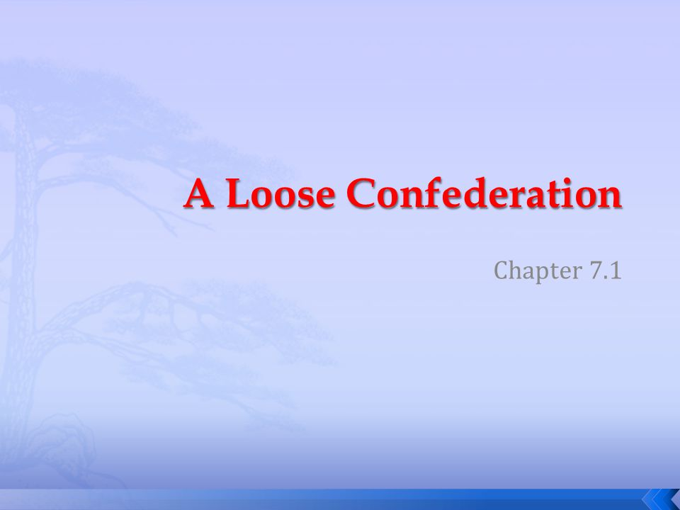 A Loose Confederation Chapter 7.1