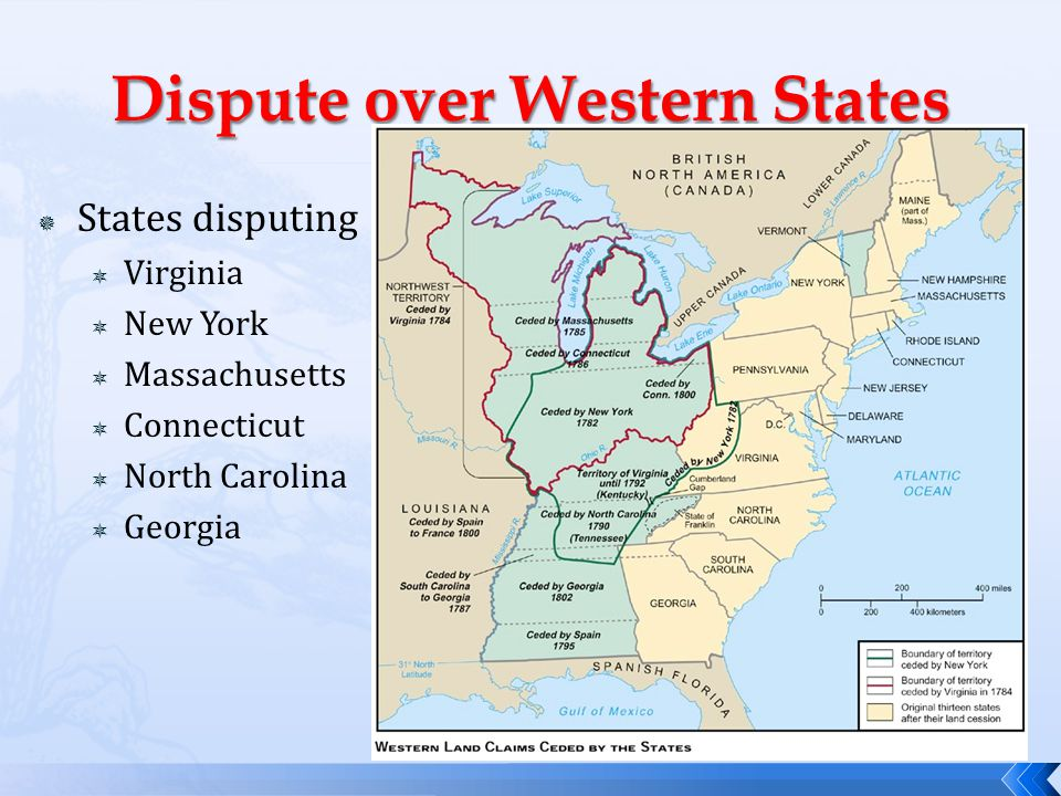 Dispute over Western States