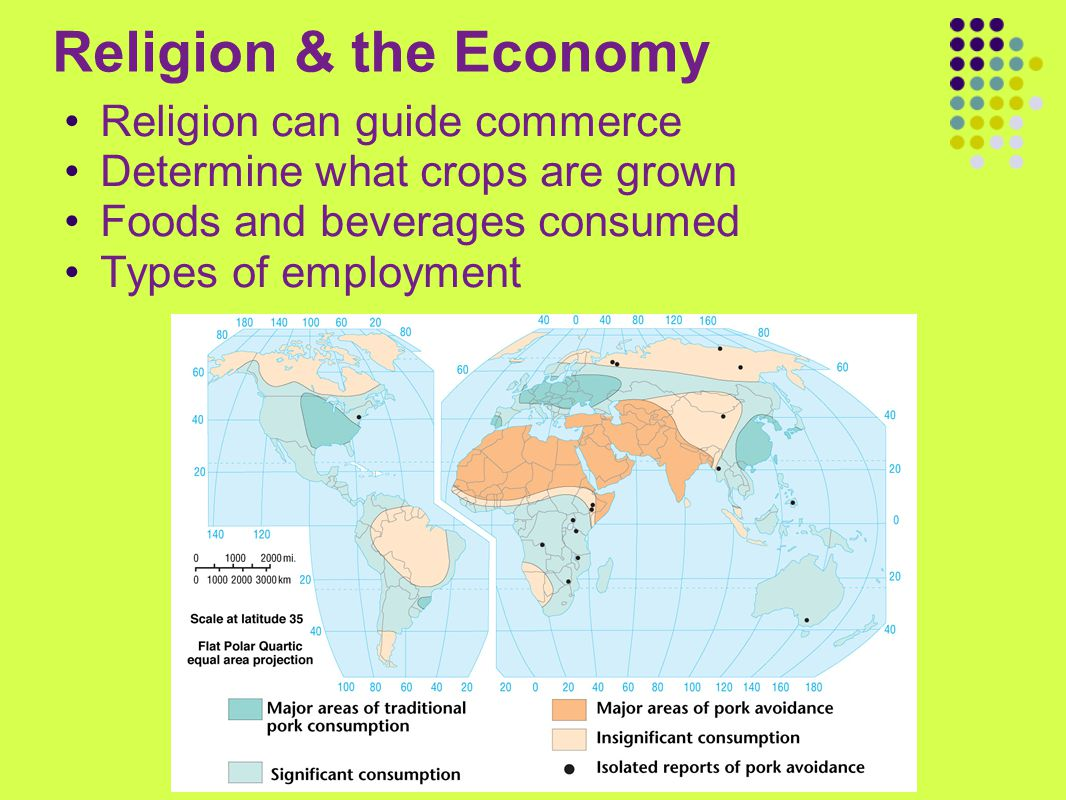Religion & the Economy Religion can guide commerce