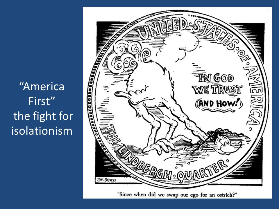 America First the fight for isolationism