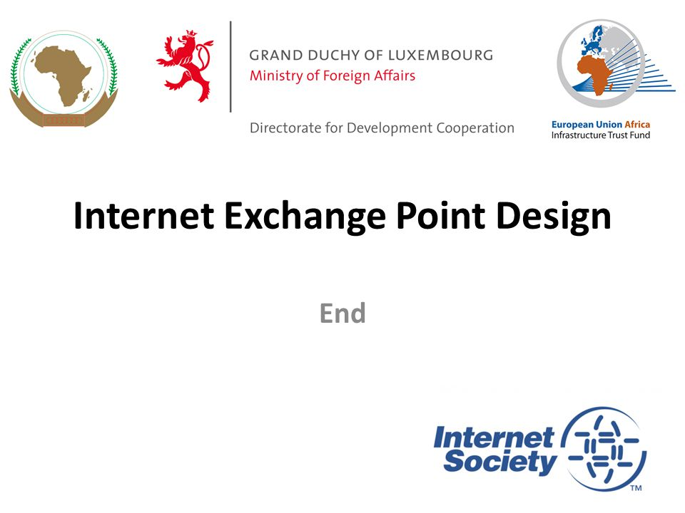 Internet Exchange Point Design